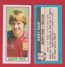 West Ham United Geoff Pike 129